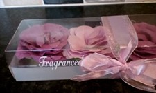 2 boxes of SOAP FLOWERS (6)