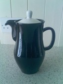 Kardomah Coffee Pot 1.5 Pints -Vintage B&W