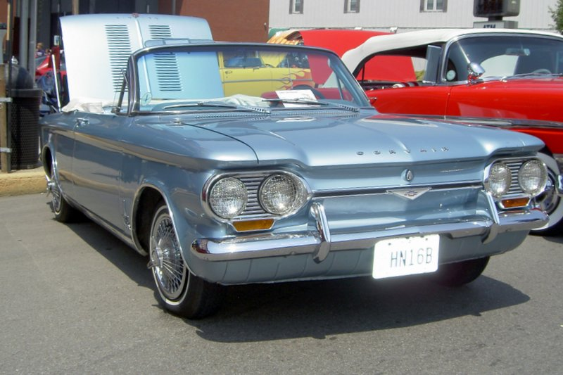 The classic 1962 Corvair Monzar