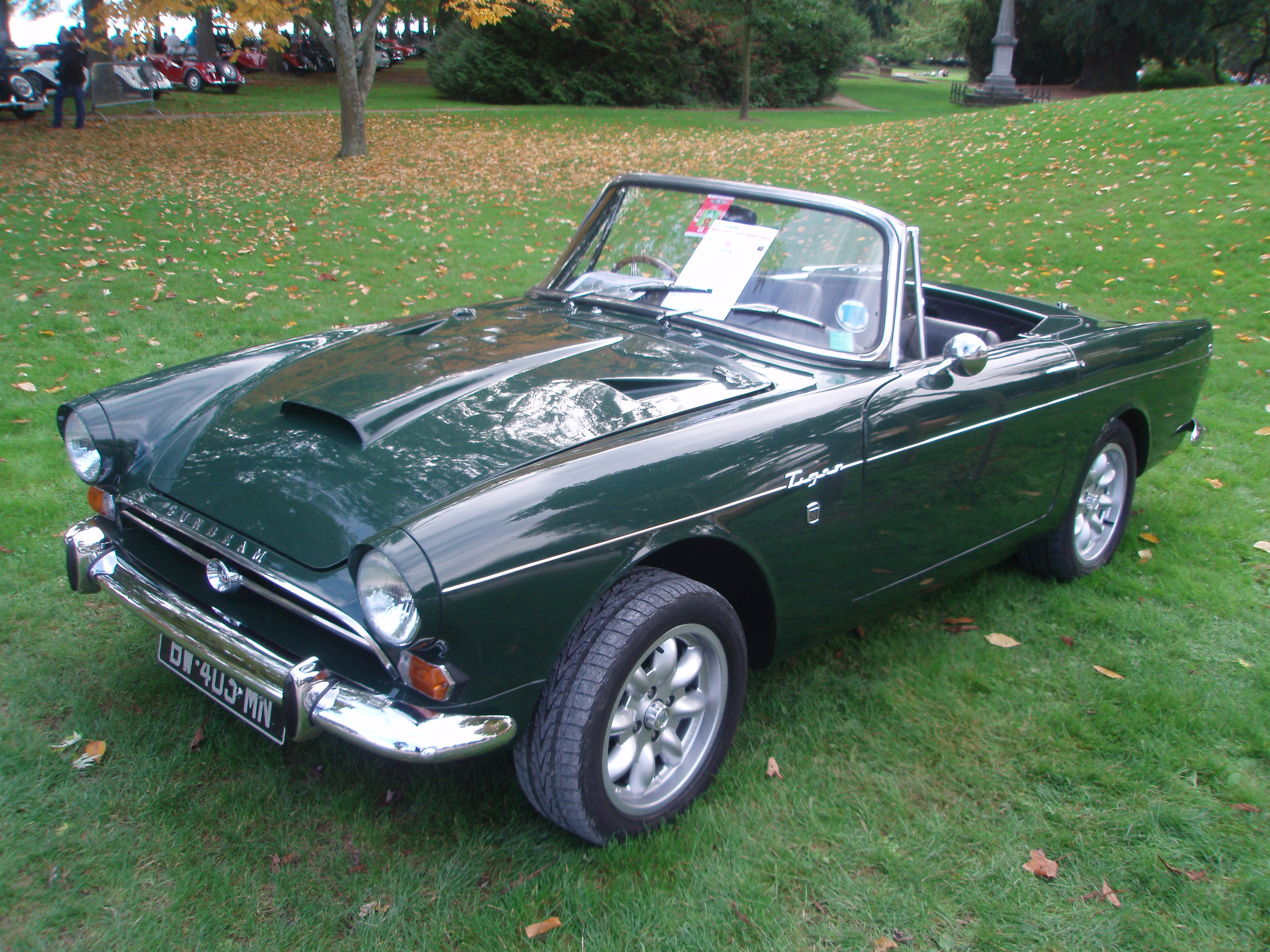 Celebrating a True Classic Car Icon: The Sunbeam Tiger at 50 ...