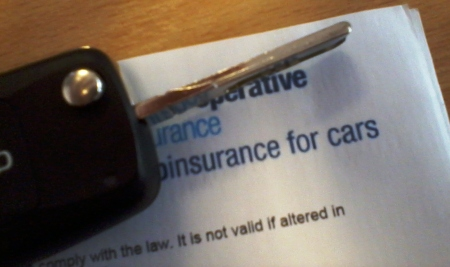 Image of insurance certificate