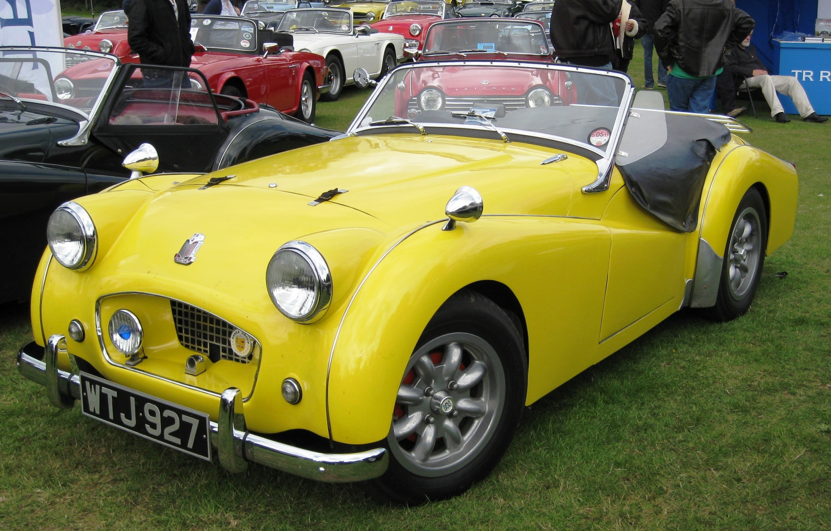Photo of Triumph TR 2 1955