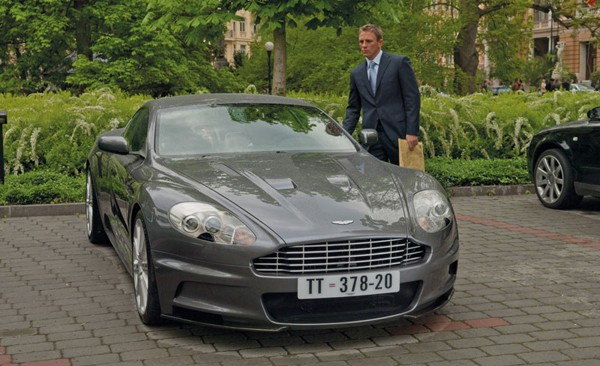 James Bond's Aston Martin DBS