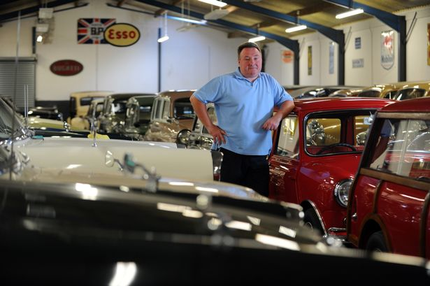 Former dentist turned classic car millionare from Wales