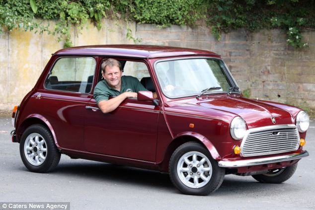 The immaculate Mini has barely been used