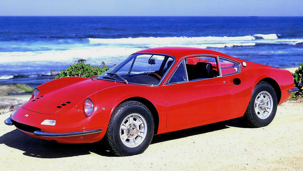 the 'rotten as a pear' Ferrari Dino still fetched more than a pretty penny at auction