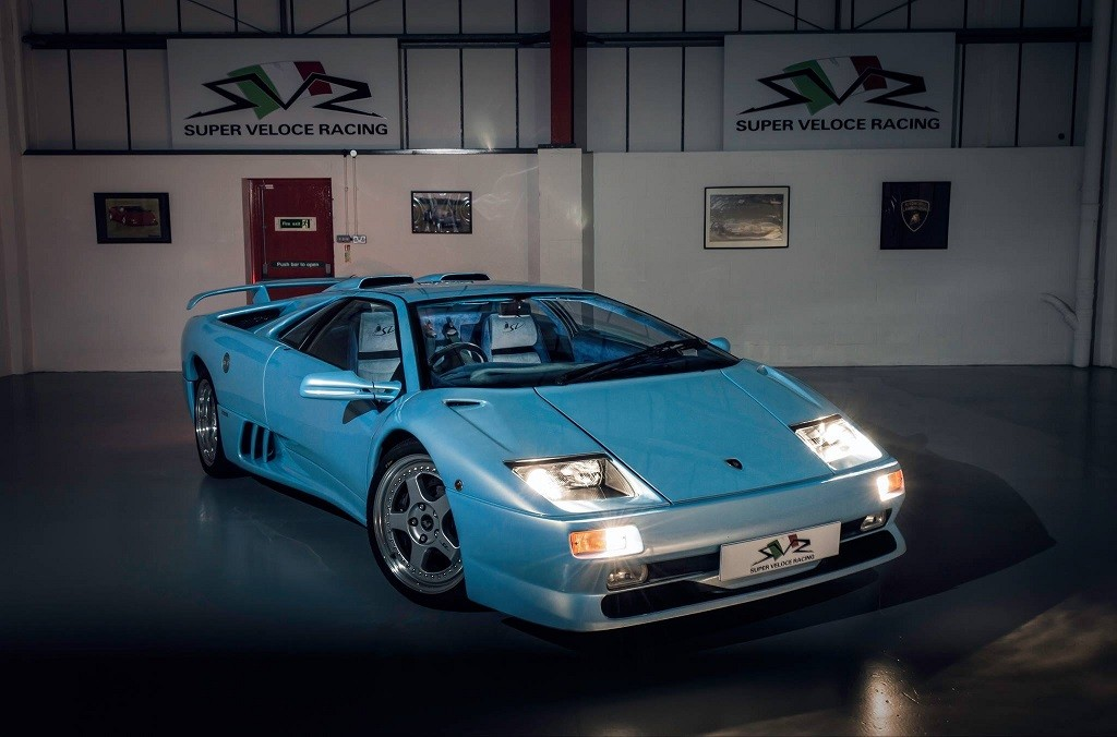 A true one-off original-condition Lambo is up for sale ...