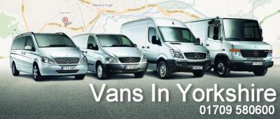 Vans in Yorkshire