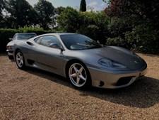 Ferrari 360 3.6 Modena F1 Auto Coupe 2d 3586cc