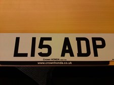 Other Other NUMBER PLATE FOR SALE