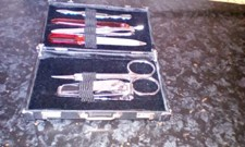 MANICURE SET IN MINI BREIFCASE+FRENCH POLISH