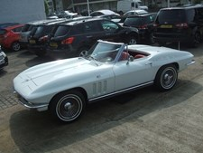 Chevrolet Corvette Auto Petrol CONVERTIBLE White 1